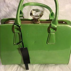 "Handbags - 💚💚""NEW Bright Green Tote💗💚"